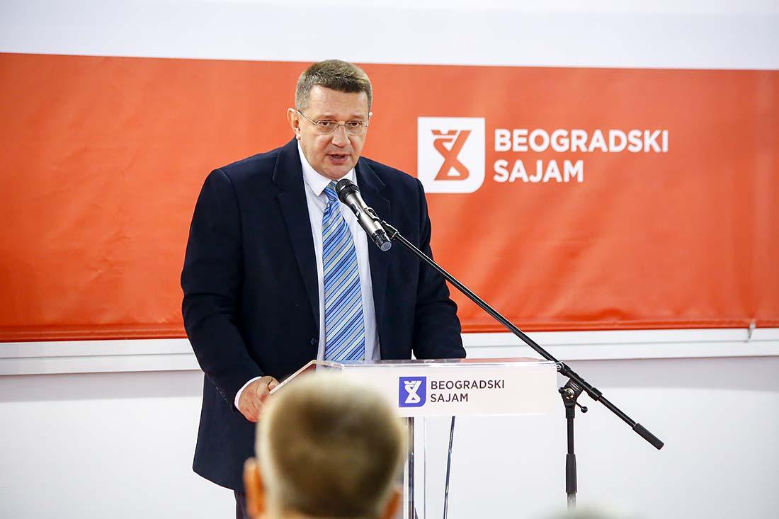 Predrag Marić, pomoćnik ministra i načelnik Sektora za vanredne situacije u Ministarstvu unutrašnjih poslova