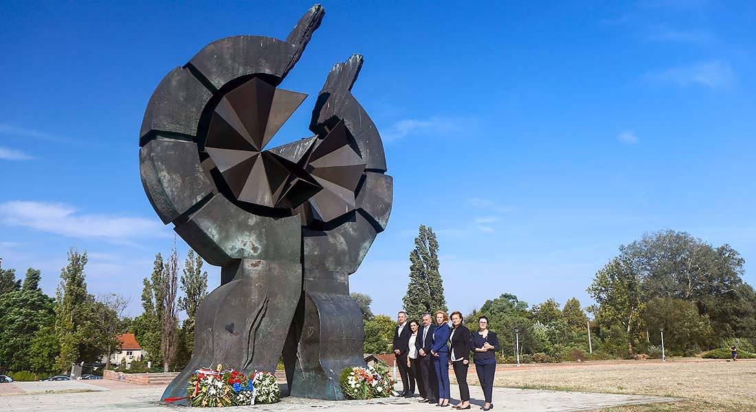 Sećanje na žrtve logora Sajmište