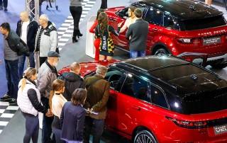 Izložbeni prostor British Motorsa na DDOR BG CAR SHOW 2018.