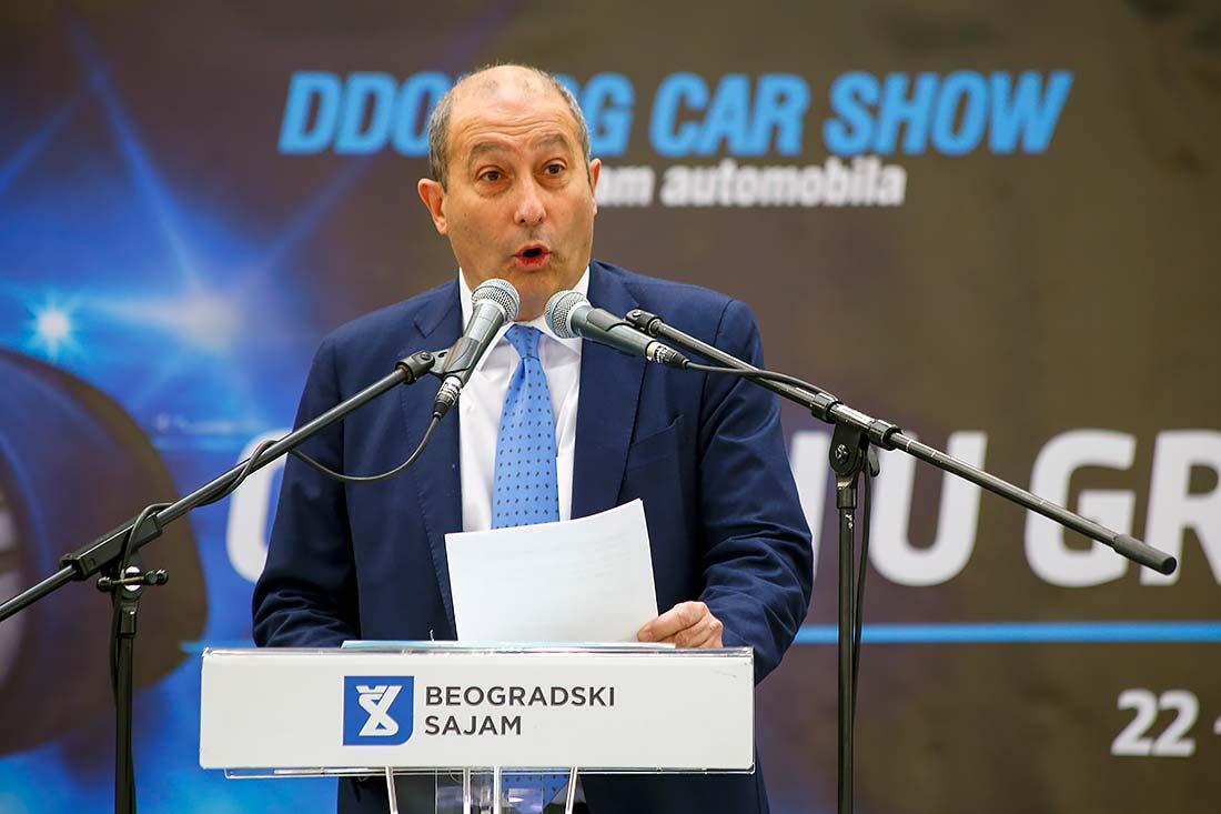 dr Đorđo Markenđani, predsednik Izvršnog odbora DDOR Novi Sad