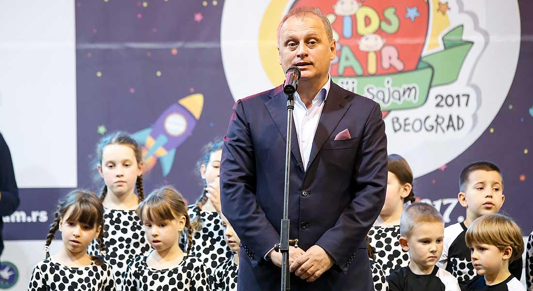 Goran Vesic otvorio Deciji sajam