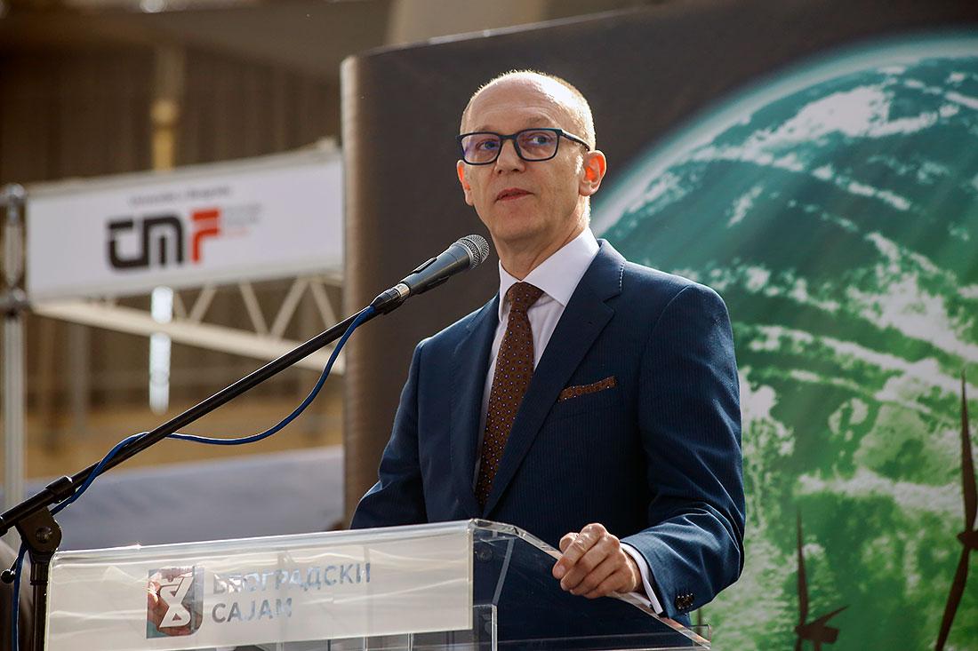 Горан Триван, министар заштите животне средине у Влади Републике Србије