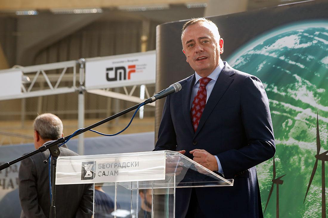 Aleksandar Antić, ministar rudarstva i energetike u Vladi Republike Srbije