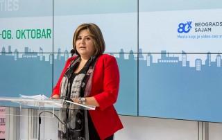 Mirjana Filipović, državna sekretarka u Ministarstvu rudarstva i energetike