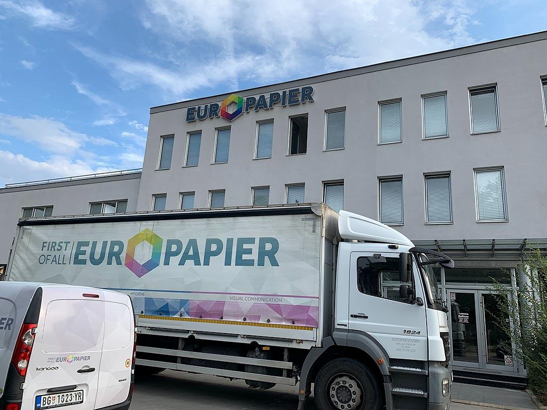 Europapier, European leader as Grafima Host