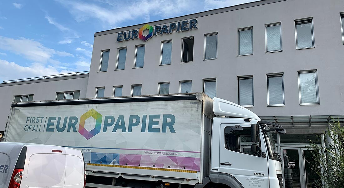 Europapier, European leader as Grafima Host
