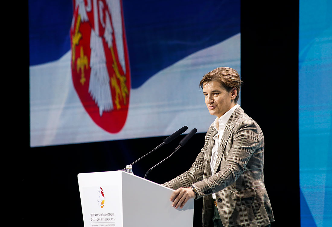 Prime Minister of the Republic of Serbia Ms. Ana Brnabic