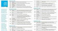 AMG - raznovrstan program, razgovori, promocije