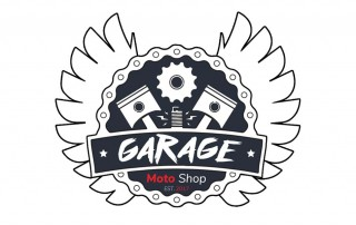 Garage moto shop