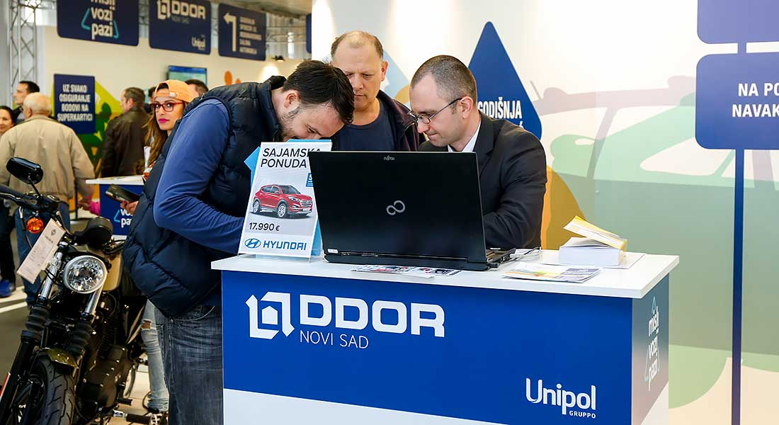 DDOR Novi Sad, generalni sponzor Salona automobila