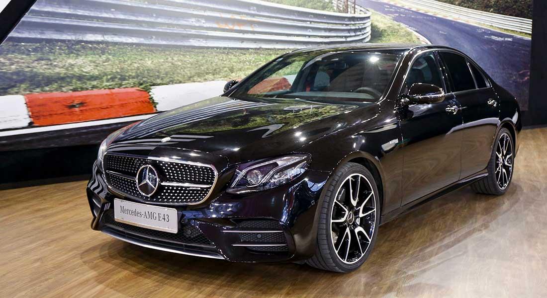 Mercedes AMG E43 na Salonu automobila