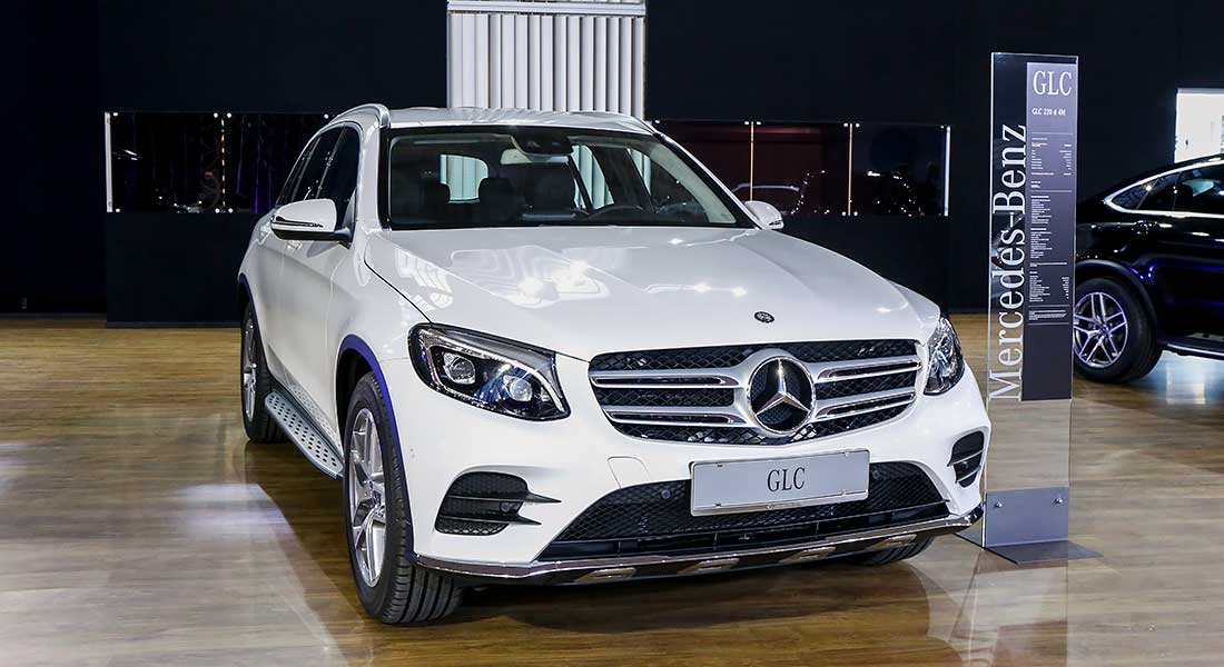 Mercedes GLC na Salonu automobila