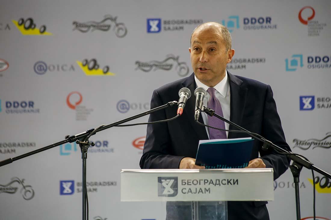 Dr Đorđo Markeđani, predsednik Izvršnog odbora DDOR Novi Sad