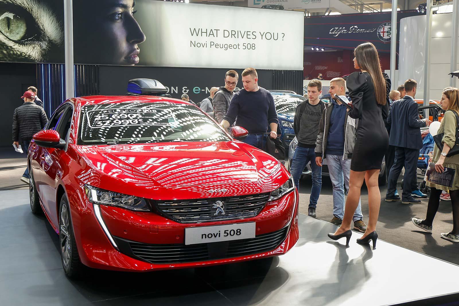 Peugeot 508 - automobil godine za 2019. godinu, u izboru Asocijacije automobilskih novinara Srbije