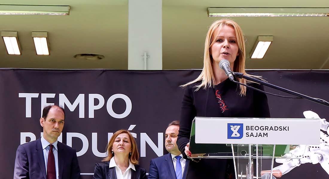 Generalna direktorka Beogradskog sajma Danka Selic