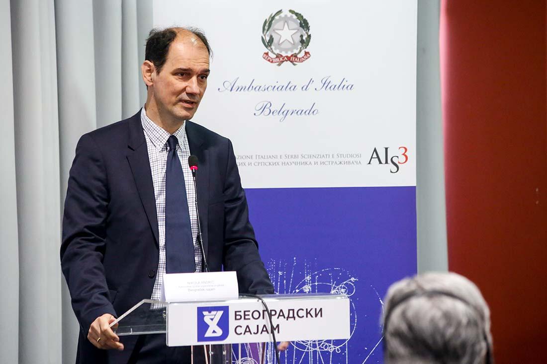 Vladimir Popović, državni sekretar u Ministarstvu prosvete, nauke i tehnološkog razvoja Republike Srbije