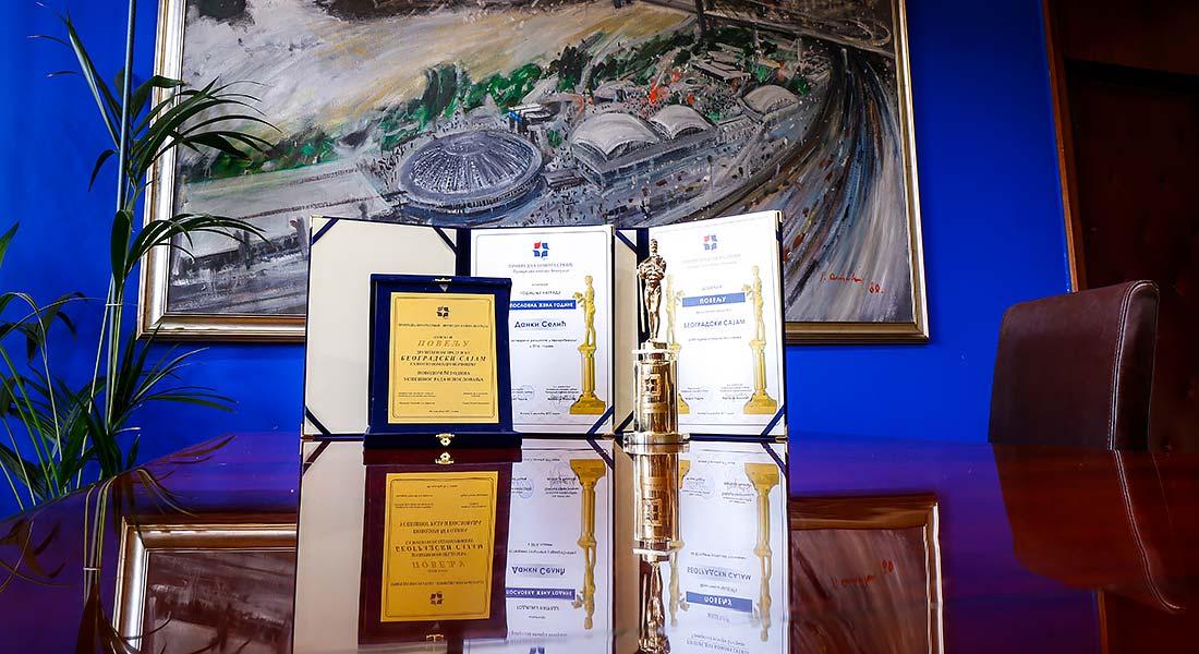 Beogradskom sajmu dve godišnje nagrade Privredne komore Srbije