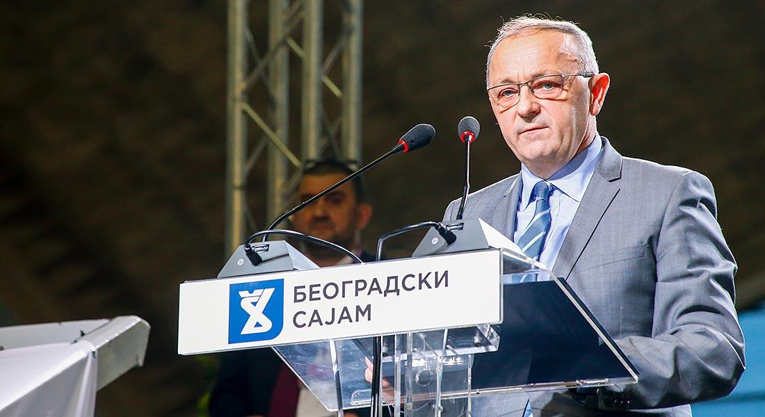 """Slađan Disić, generalni direktor kompanije """"Simpo"""" iz Vranja"""