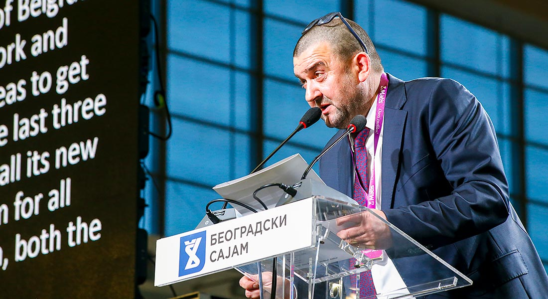 """Dragomir Lazović, generalni direktor i vlasnik kompanije """"Matis Group"""" iz Ivanjice"""