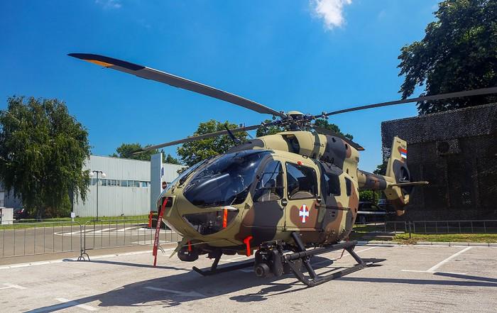U Srbiju stigao prvi od devet Erbasovih H145M helikoptera