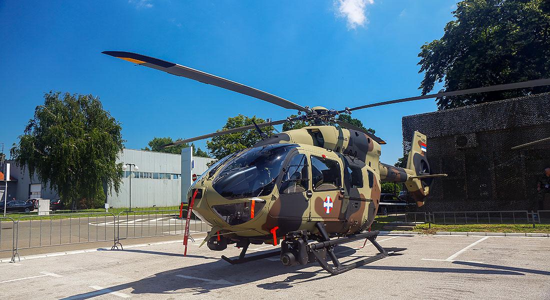 У Србију стигао први од девет Ербасових Х145М хеликоптера
