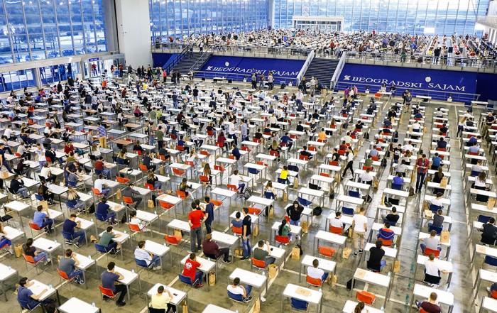 Vreme prijemnih ispita na fakultetima Beogradskog univerziteta