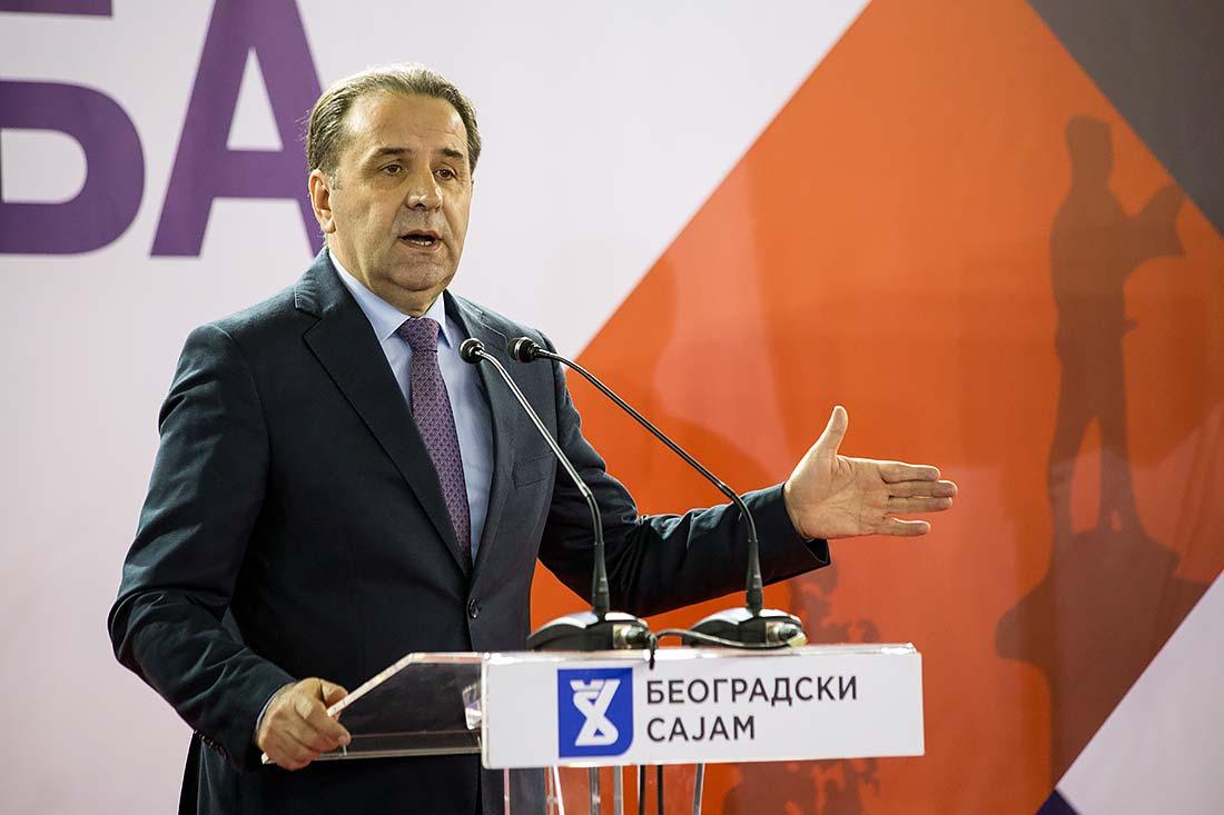 Rasim Ljajić, potpredsednik Vlade i ministar trgovine, turizma i telekomunikacija