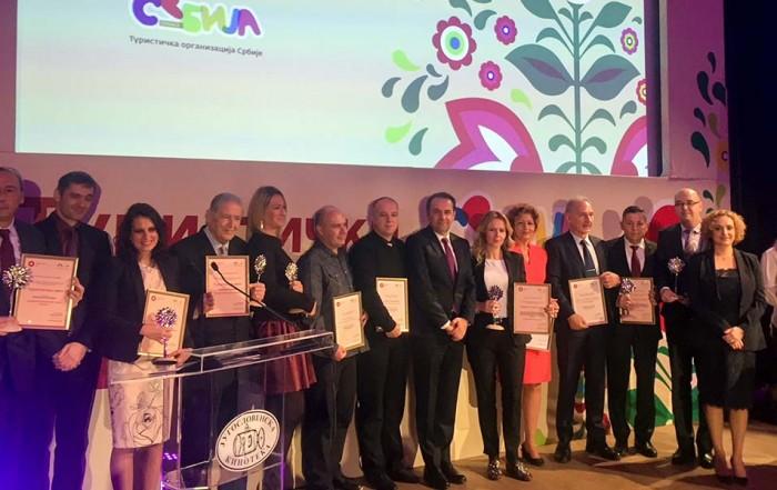 Престижна награда Туристички цвет Београдском сајму