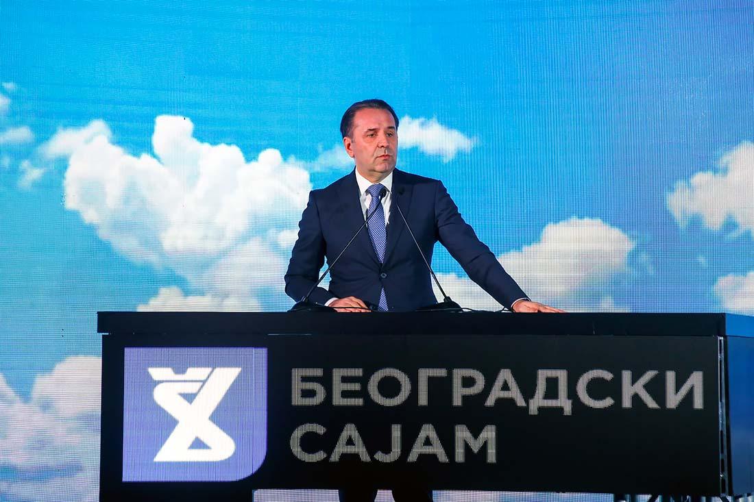 Rasim Ljajić, potpredsednik Vlade Republike Srbije i ministar trgovine, turizma i telekomunikacija