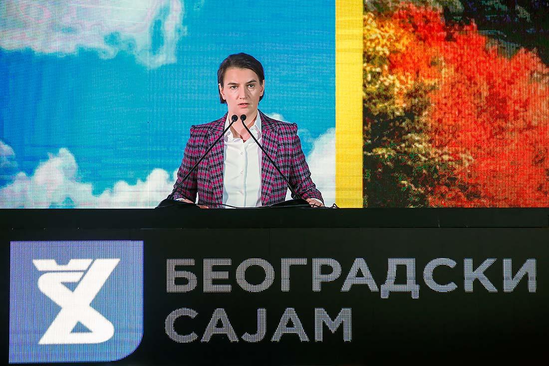 Ana Brnabić, predsednica Vlade Srbije