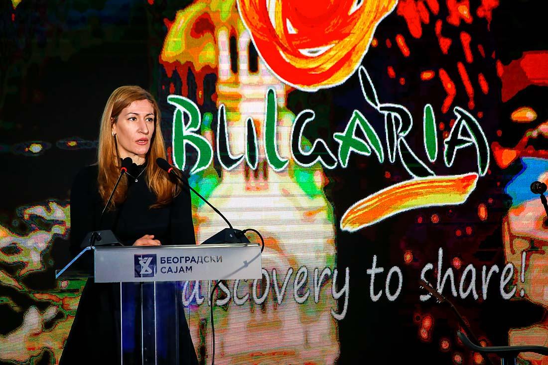 Ministarka turizma Bugarske Nikolina Angelkova