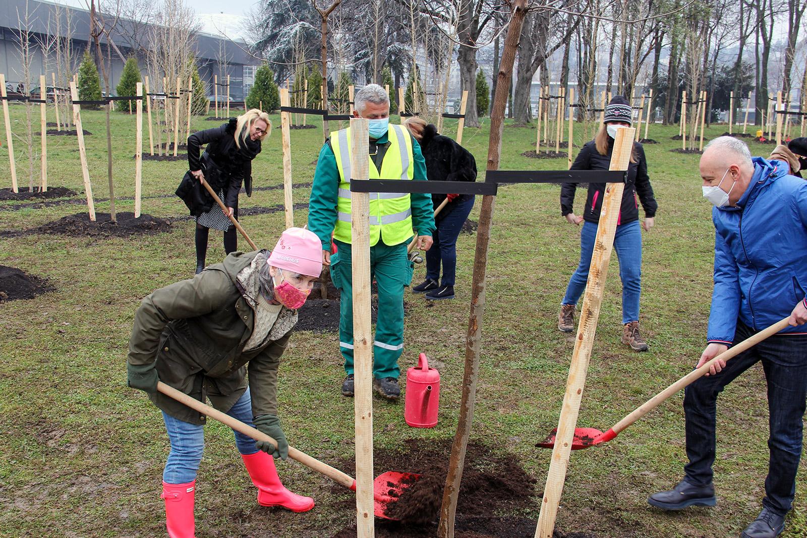 Na Beogradskom sajmu posađeno 189 stabala
