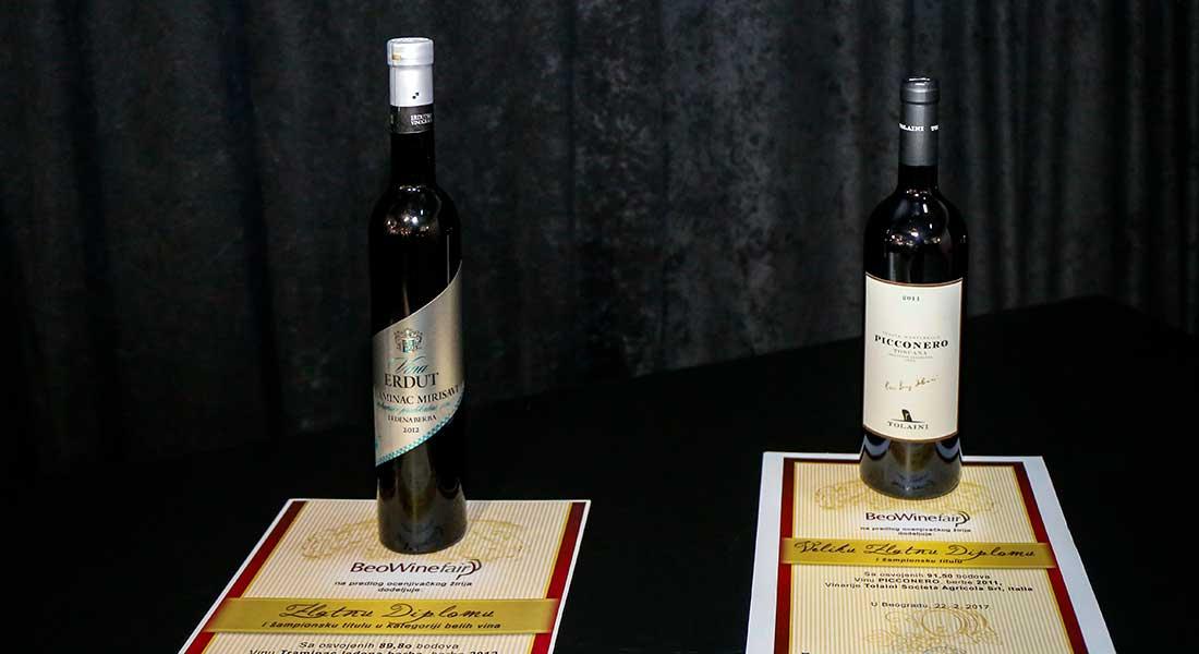 Predstavljena pobednicka vina