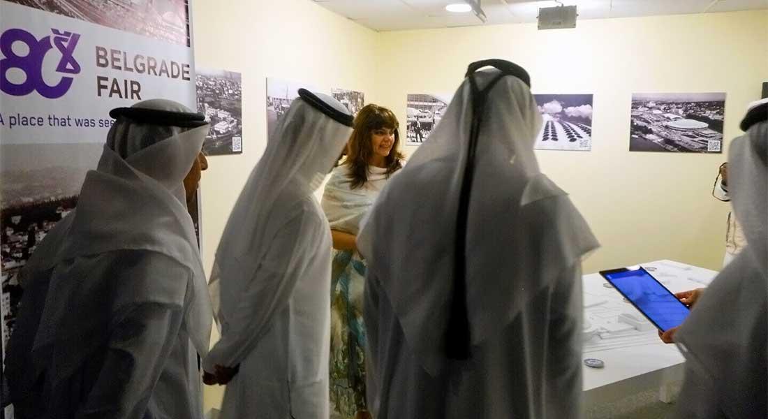 Odlična posećenost sajamskog štanda u Abu Dabiju