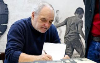 Đorđe Balašević na Sajmu knjiga 2017. godine