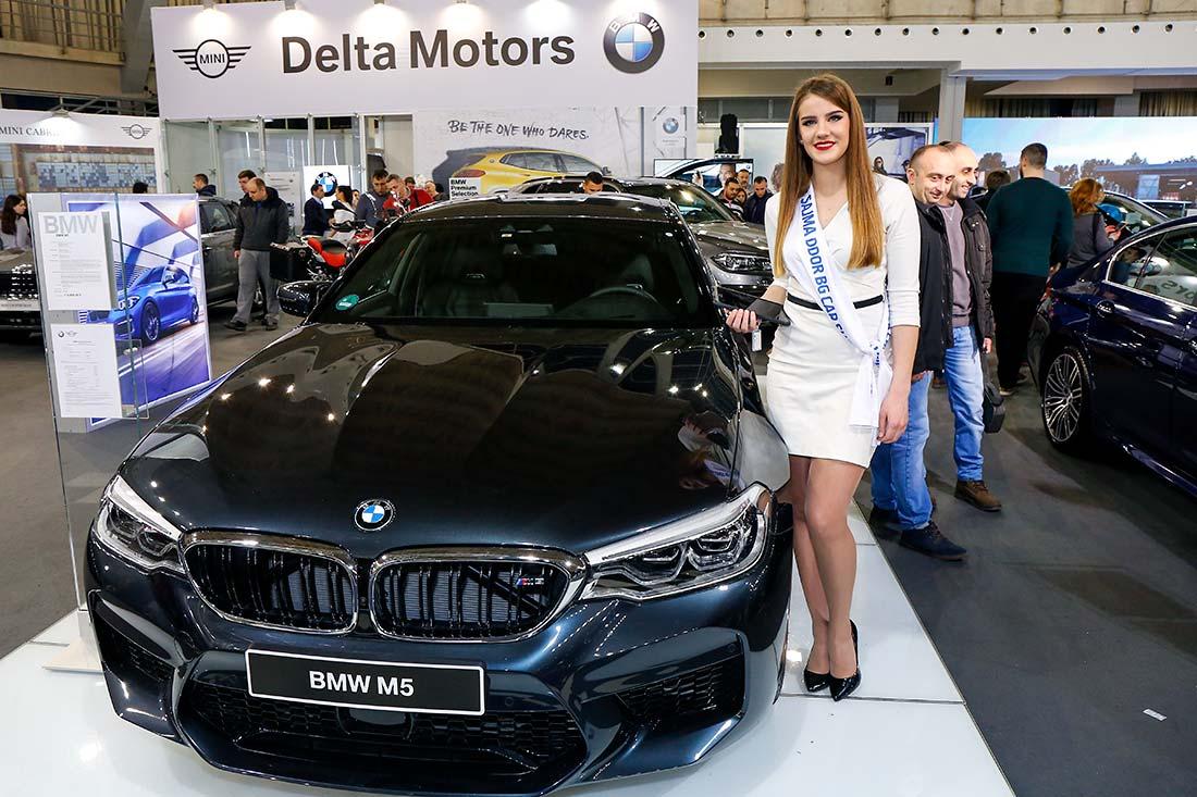 Ivana Okiljević, miss DDOR BG Car Show 06