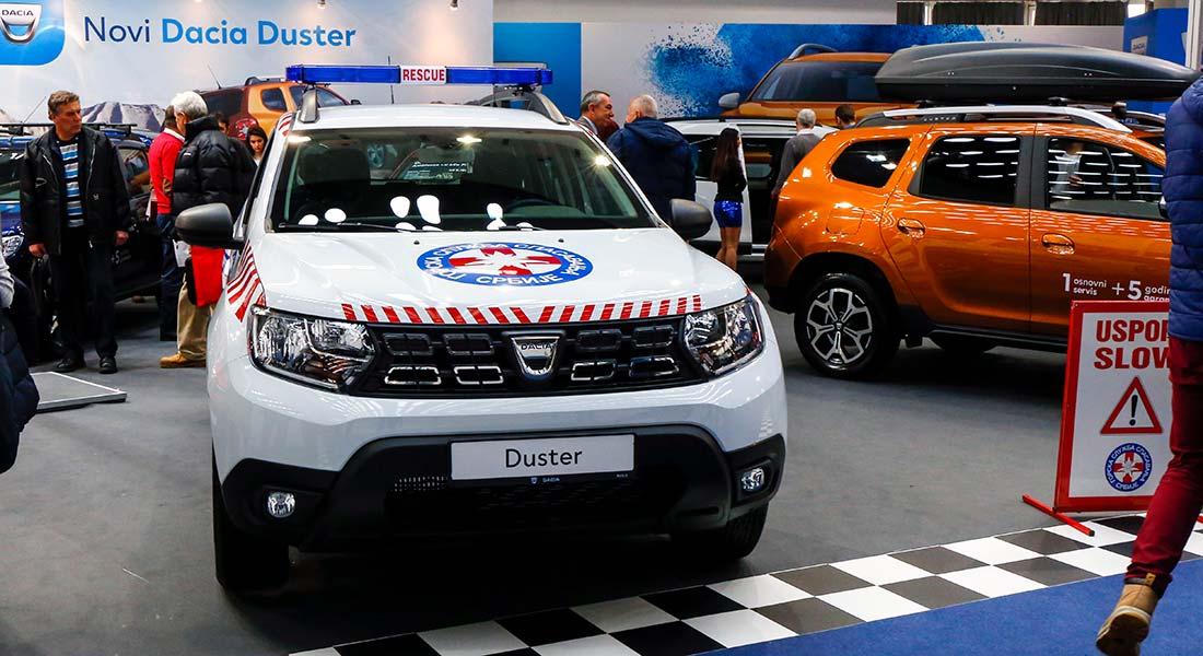 Novi Dacia Duster za Gorsku službu spasavanja