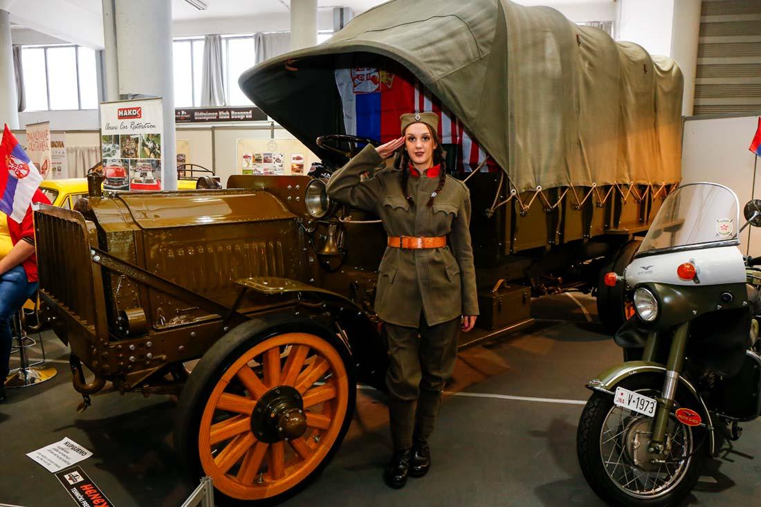 Kamion srpske vojske iz Prvog svetskog rata