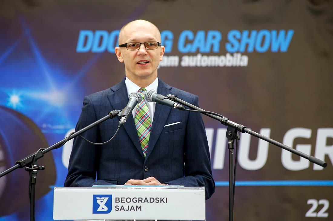 Goran Trivan, ministar zaštite životne sredine u Vladi Srbije