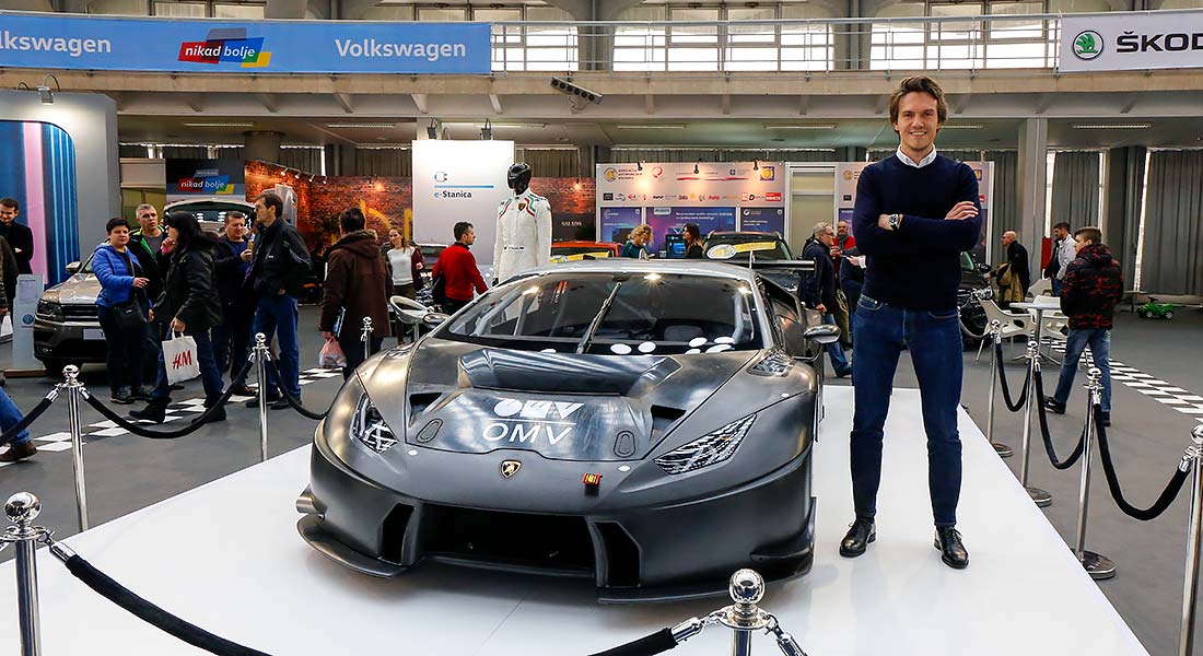 Miloš Pavlović predstavio Lamborgini Hurakan GT3