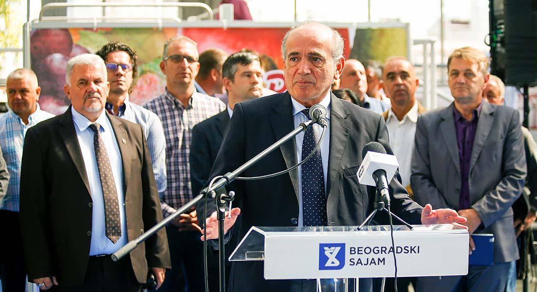Milan Krkobabić, ministar bez portfelja zadužen za regionalni razvoj i koordinaciju rada javnih preduzeća