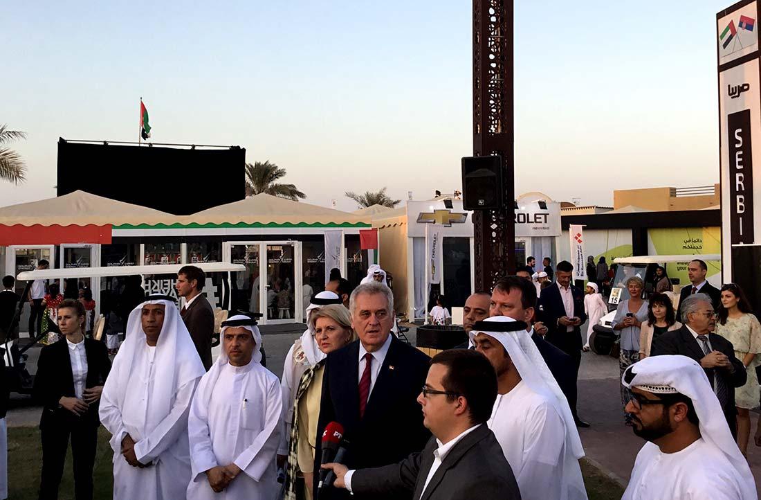 Predstavljanje Beogradskog sajma na Festivalu u Emiratima