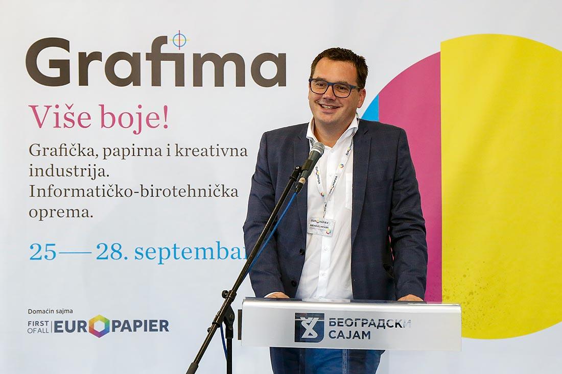Michael Hicker, komercijalni direktor grupe Europapier Austria