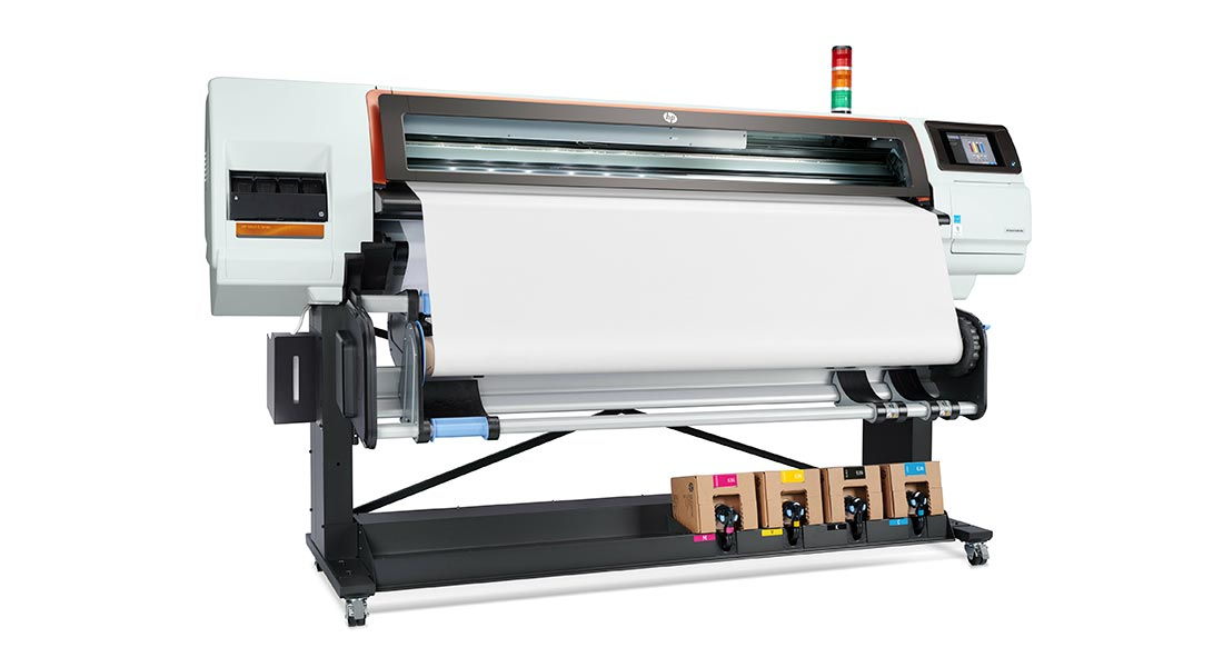 HP Stitch 500 textile printer, the first dye-sub printer to use thermal inkjet technology