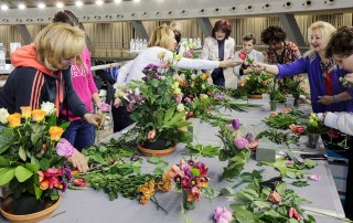 Competition in Making Floral Arrangements