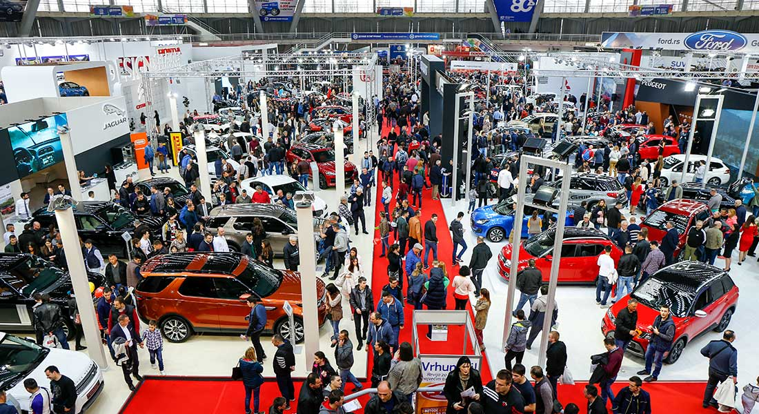 Salon automobila 2017