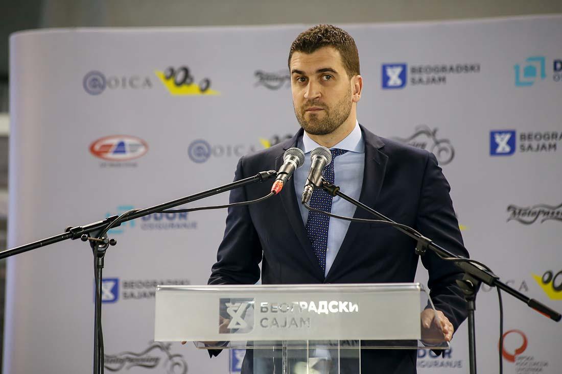 Igor Ševo, predsednik Skupštine Udruženja proizvođača drumskih vozila Srbije