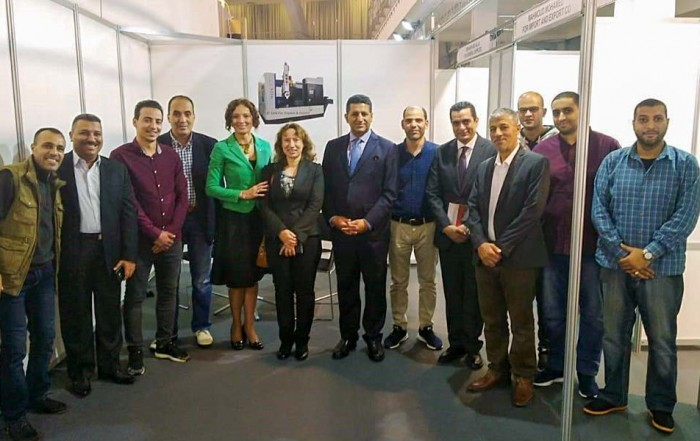 A visit by the Egyptian ambassador to Technical Fair