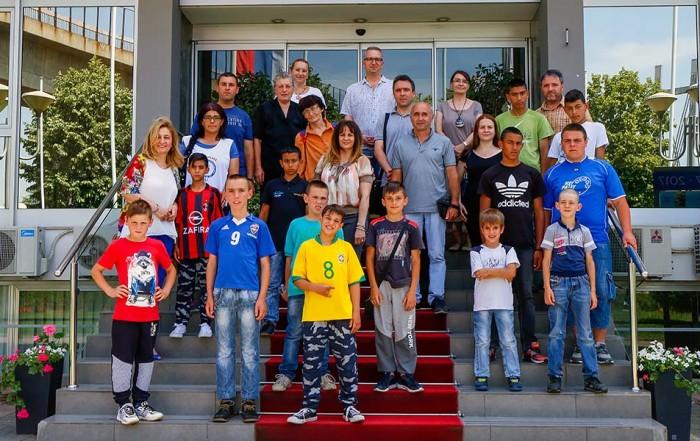 Poseta učenika OŠ Dobrinka Bogdanović