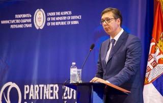 Predsednik Republike Srbije Aleksandar Vučić otvorio je Partner 2017.
